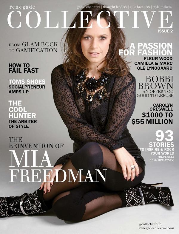Renegade Collective magazine issue 2 Mia Freedman